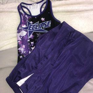 Cheer practice uniform